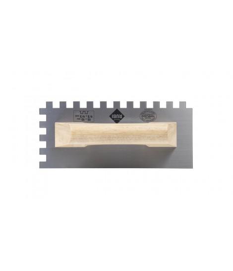 Peine Rubi 28 cm. Mango de madera cerrado 10X10