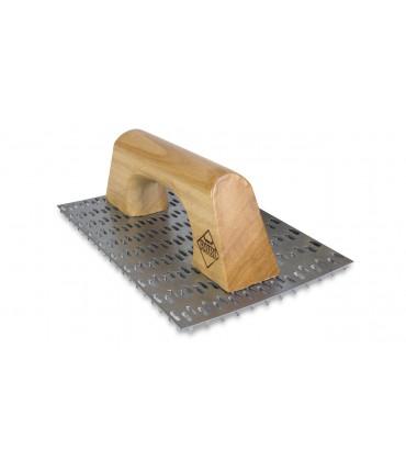 Rascador Rubi 250x144 mm con mango de madera