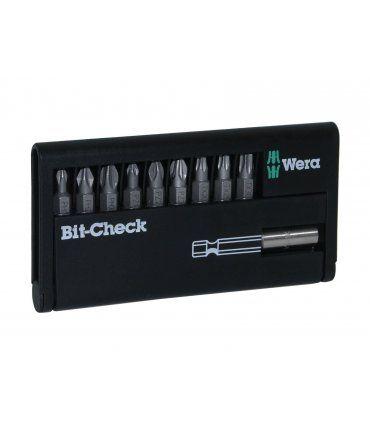 Juego de 9 puntas con porta-puntas Wera Bit-Check 05134044001