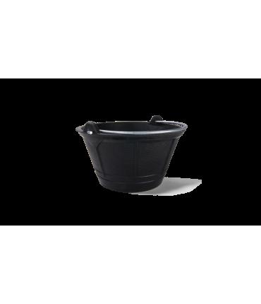 Cubo de goma italiano Rubi de 10 litros