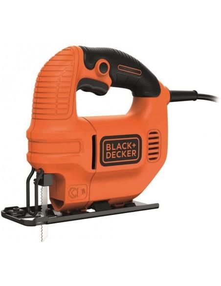 Sierra de calar Black & Decker KS501AT - caladora 400 W + caja de lata + hojas de calar BLACK + DECKER - 2