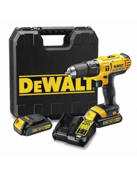 Taladro percutor Dewalt DCD776D2 – XR 18 V 42Nm 2 bat. 2,0 Ah con maletín DEWALT - 1