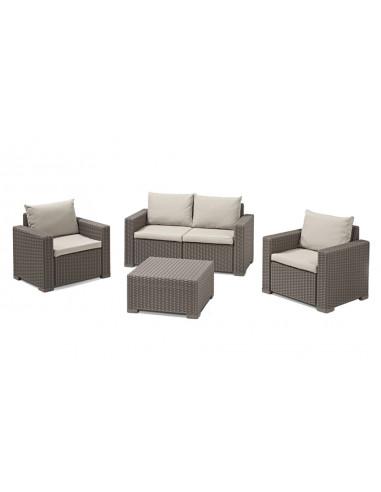 Set de muebles de jardín California 4...