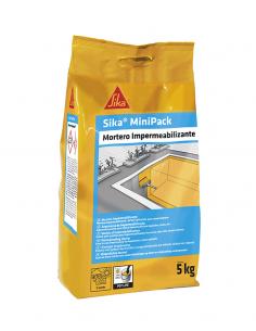 Minipack Mortero Impermeabilizante 5kg Sika SIKA - 1