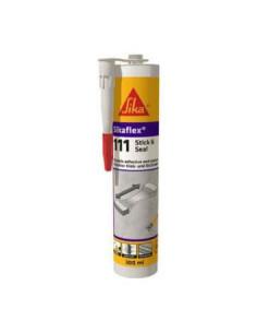 Cartucho Adhesivo Sellador Flexible Sikaflex-111 Stick & Seal 290ml