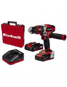 Taladro Percutor 18V 48Nm con 2 baterías 2Ah y maletín Einhell TE-CD 18/48 Li-i EINHELL - 1