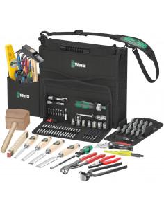 Juego de herramientas para trabajos en Madera 134 piezas Wera 134011