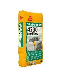 Saco Mortero de Reparación Estructural con Consistencia variable Sika MonoTop-4200 Multiflow SIKA - 1