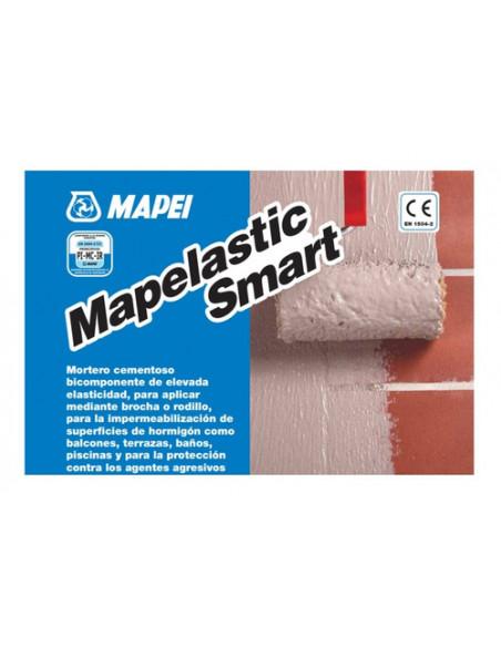 Lote mortero impermeable Mapelastic Smart Mapei 30kg MAPEI - 2