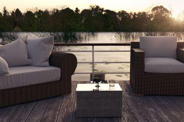 muebles con estilo para jardín o terraza
